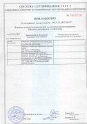 Сертификат Соответствия на сварочное оборудование Wavin Ekoplastik (оборот)
